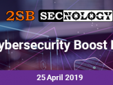 2SB Secnology cybersecurity Boost Day banner